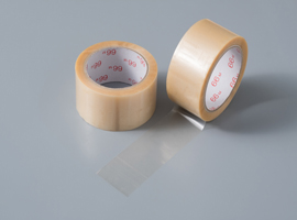 Unprinted transparent tape